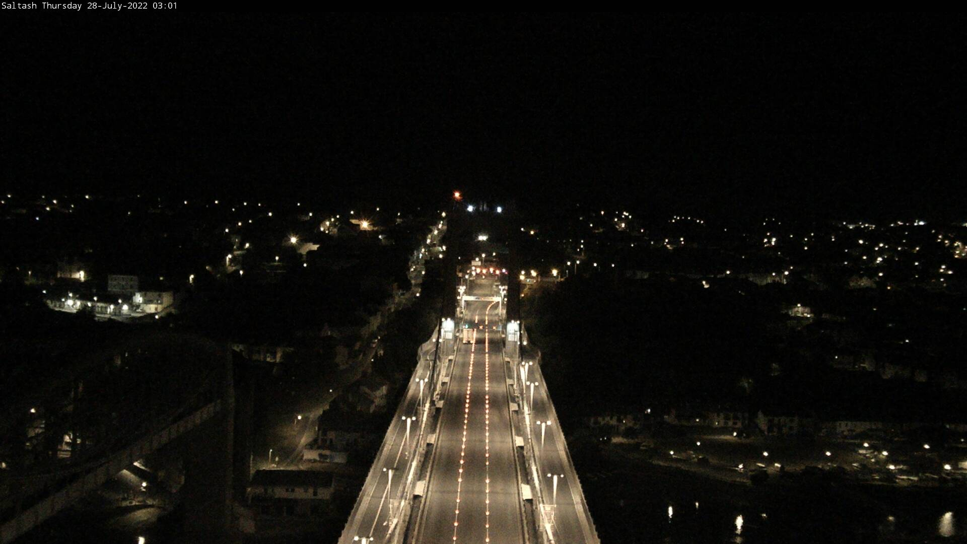 Saltash from Bridge Tower