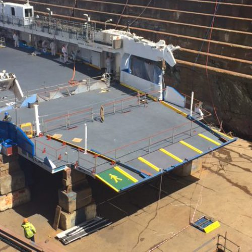 Ferry Refit – Tamar II – April 2019 – Updated 14th May 2019