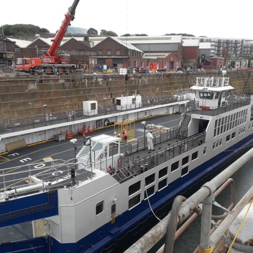 Ferry Refit – Tamar II – April 2019 – Updated 20th May 2019