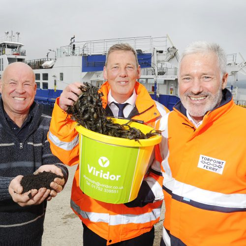 Torpoint Ferry – Turning the tide on enough seaweed to fill 5 double decker buses – 3rd June 2019