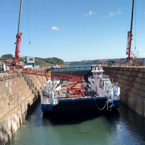 Ferry – Update LYNHER Refit May 2020