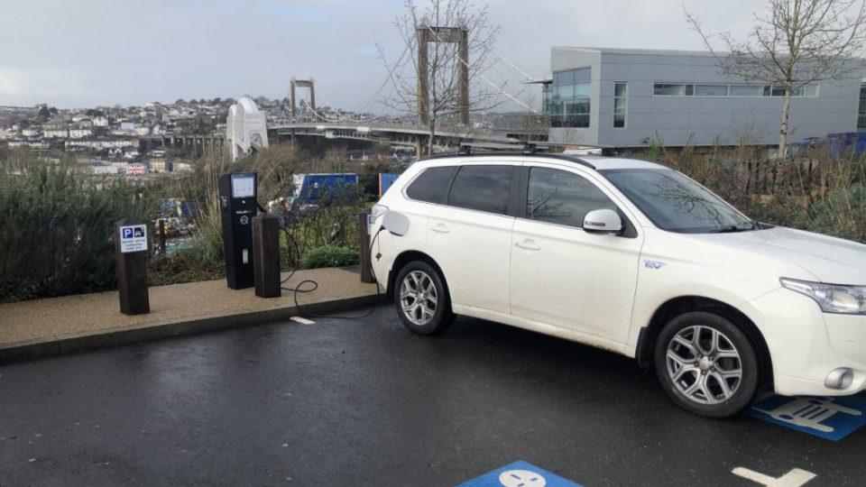 ev charging points